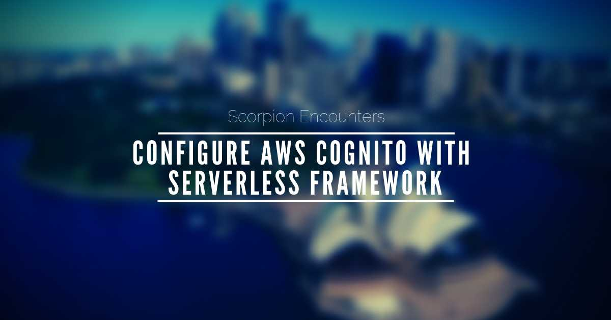 Quick and easy approach to authenticate AWS Cognito User